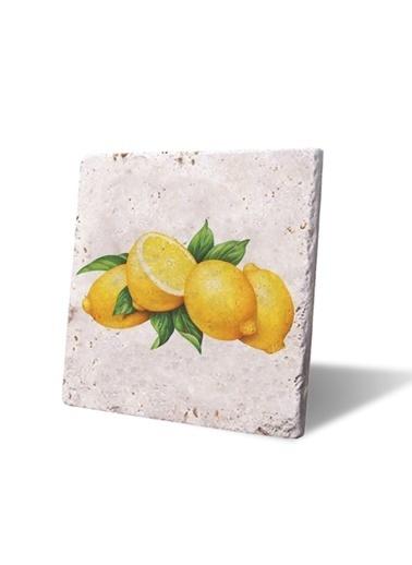 LWP Shop Capri Lemons Bardak Altlığı  Sarı